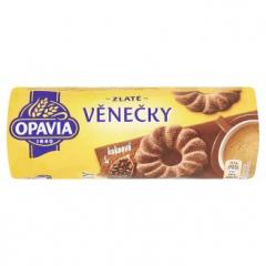 Opavia Zlaté věnečky kakaové 150g