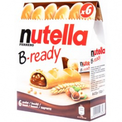 Nutella B-Ready 6pack 6x 22g
