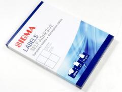 Etikety kancelářské 105x148mm bílé 100 listů