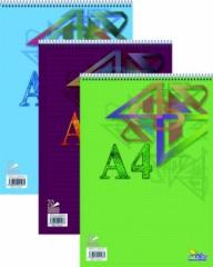Blok spirála nahoře A4 70 listů
