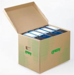 Skupinový box Emba - 42,5 x 33 x 30 cm, hnědý