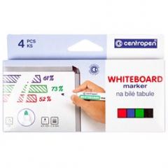 Centropen Whiteboard marker 8559 sada 4ks