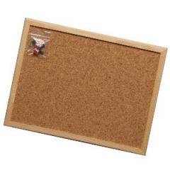 Tabule korková s dřevěným rámem