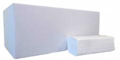 Ručník papírový skládaný TRENDY ZZ, 2 vrstvy, bílý, 3000ks