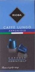 Rioba Armonioso Lungo káva 10x5g kapsle