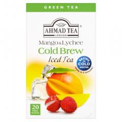 Ahmad Tea Cold Brew mango/ lichee zelený ledový čaj 40g