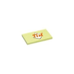 Bloček samolepící 75x127/linkovaný 100 listů
