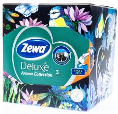 Zewa Deluxe Kapesníky papírové 3-vrstvé Aroma Collection box (60ks)