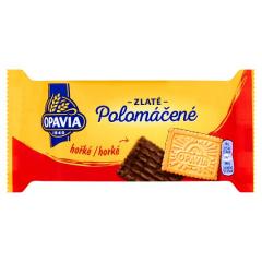 Opavia Zlaté polomáčené sušenky hořké 100g