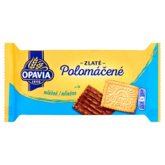 Opavia Zlaté polomáčené sušenky mléčné 100g