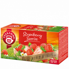 Teekanne Čaj Strawberry Sunrise šťavnatá jahoda 20x2,5g