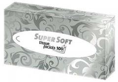 Kosmetické kapesníčky Super Soft, 2 vrstvy, 100 ks
