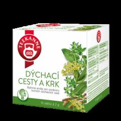 Teekanne Dýchací cesty a krk bylinný čaj 10x2g