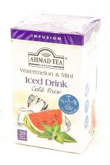 Ahmad Tea Cold Brew Watermelon & mint čaj 40g