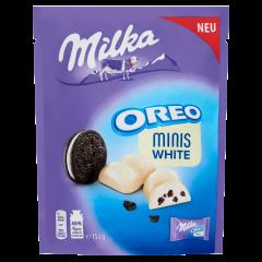 Milka Oreo Minis v bílé čokoládě 153g