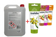 AKCE Anti -COVID dezinfekce rukou 5l + krém Isolda 100ml ZDARMA