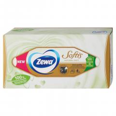 Zewa Softis Natural Soft Kapesníčky 4-vrstvé 80ks