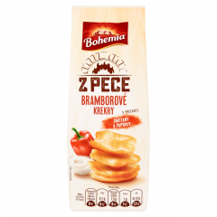 Bohemia Krekry bramborové z pece smetana a paprika 100g