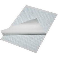 Blok pro flipchart 25 listů s modrým potiskem čtverečkový