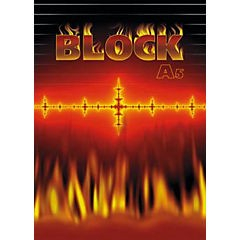 Blok lepený A5 lepený linkovaný 50 listů