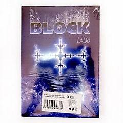 Blok lepený A5 50 listů čistý bílý