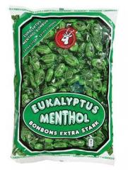 Eukalyptus menthol bonbóny 1kg