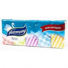 Harmony Kapesníčky Prima 3-vrstvé 10x10ks