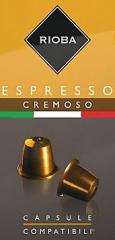 Rioba Espresso Cremoso 10x5g kapsle