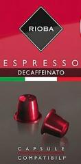 Rioba Espresso Decafeinato 10x5g kapsle