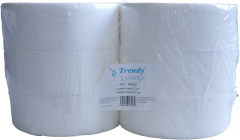 Toaletní papír TRENDY jumbo, 27 cm/9,5 cm 6 rolí