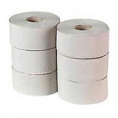 Toaletní papír TRENDY jumbo, 23 cm/9,5 cm, 2 vrstvy, celuloza,  6 rolí