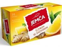 Jemča Citron se zázvorem ovocný-bylinný čaj 20*2g