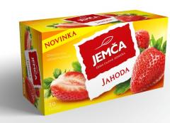 Jemča Jahoda ovocný čaj 20*2g