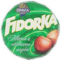 Opavia Fidorka mléčná s oříšky 30g