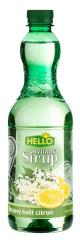 Hello Sirup bezový květ a citron bylinný 0,7l