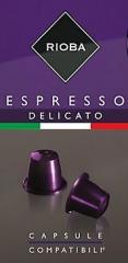 Rioba Espresso Delicato 10x5g kapsle