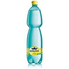 Korunní citron jemně perlivá voda 1,5l /6ks