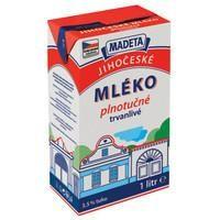 Mléko plnotučné trvanlivé 3,5% 1l
