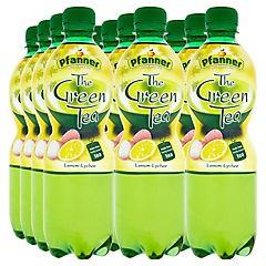 Pfanner čaj zelený citron liči 0,5l /12ks