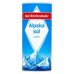 Sůl balená alpská se slánkou 0,5kg